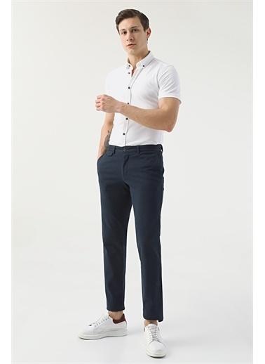 D'S Damat Ds Damat Slim Fit Lacivert Chino Pantolon Lacivert